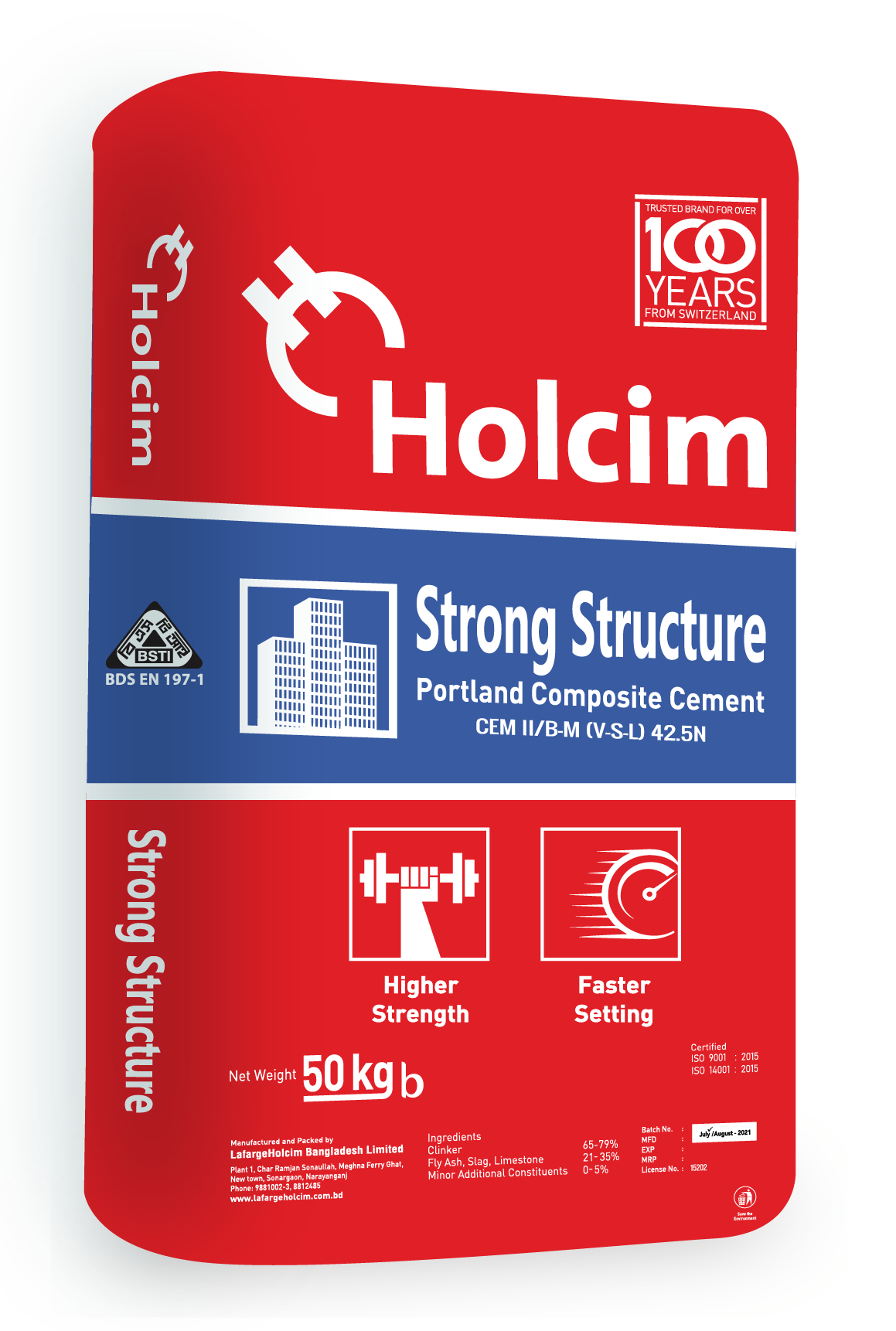 holcim strong structure 3d